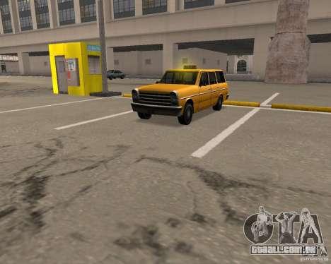 Perennial Cab para GTA San Andreas esquerda vista
