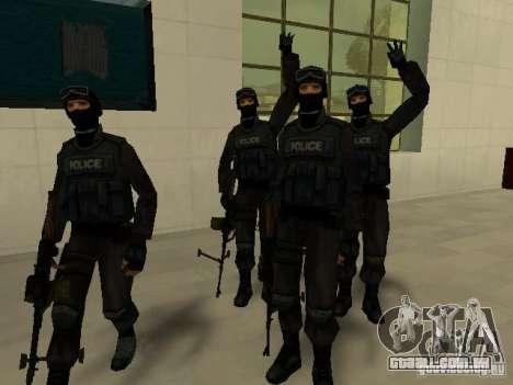 Ajuda Swat para GTA San Andreas nono tela