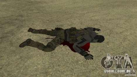 Ghost para GTA San Andreas sexta tela