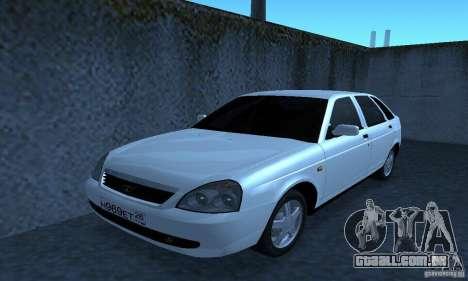 Lada Priora Hatchback para GTA San Andreas