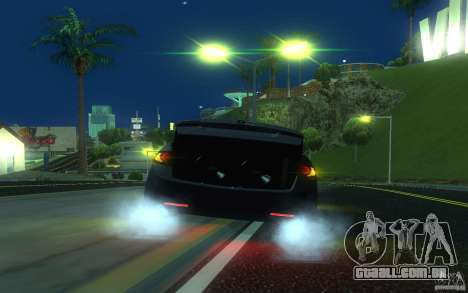 Honda Accord para GTA San Andreas vista inferior