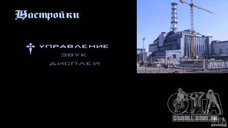 Telas de carregamento Chernobyl para GTA San Andreas por diante tela