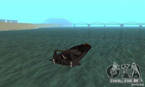 Human Viper para GTA San Andreas esquerda vista
