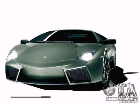 Mundo de máquinas de tela de inicialização para GTA San Andreas terceira tela