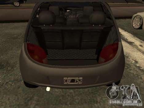 Ford Ka 1998 para GTA San Andreas vista traseira