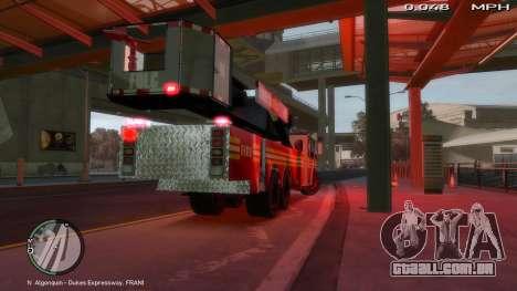 SS10 Tower Ladder v1.0 para GTA 4