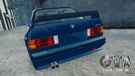 BMW M3 E30 FINAL para GTA 4 vista direita