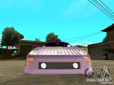Mitsubishi Spider para GTA San Andreas vista direita
