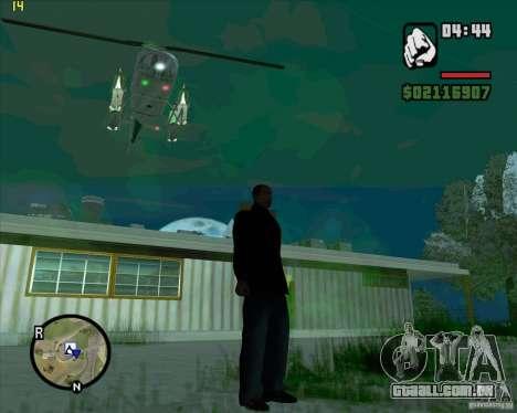 Helicóptero ajuda para GTA San Andreas