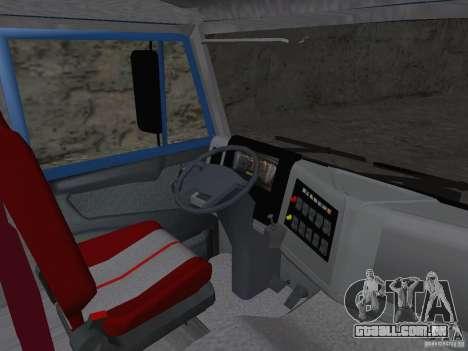 KAMAZ 65222 para GTA San Andreas vista traseira