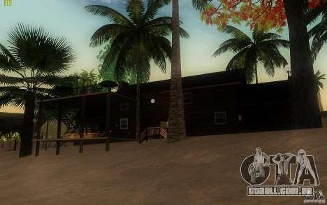 New Country Villa para GTA San Andreas terceira tela