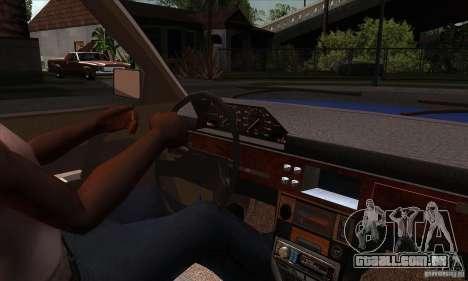 2141 AZLK pessoas edição para GTA San Andreas vista interior