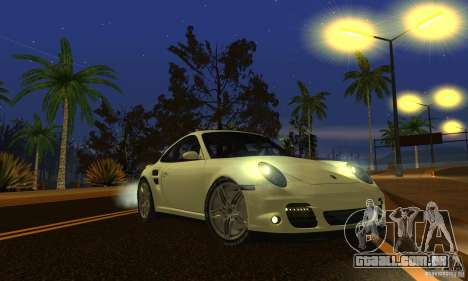 Color Correction para GTA San Andreas sétima tela