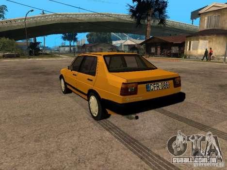Volkswagen Jetta para GTA San Andreas esquerda vista