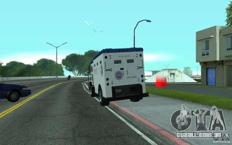 Securicar do GTA IV para GTA San Andreas esquerda vista