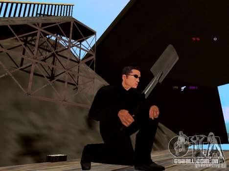 Ice Weapon Pack para GTA San Andreas sexta tela