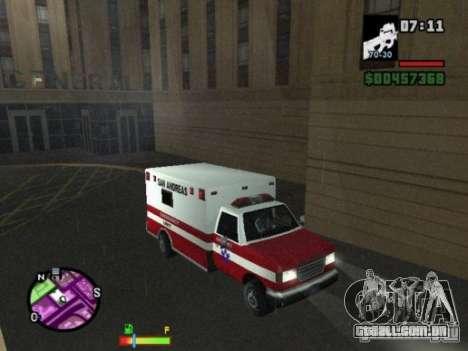 Auto-Repair para GTA San Andreas segunda tela