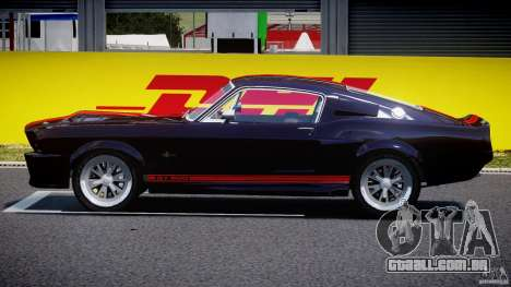 Ford Shelby GT500 1967 para GTA 4 esquerda vista