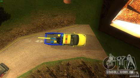 Toyota Avanza Towtruck para GTA San Andreas vista direita
