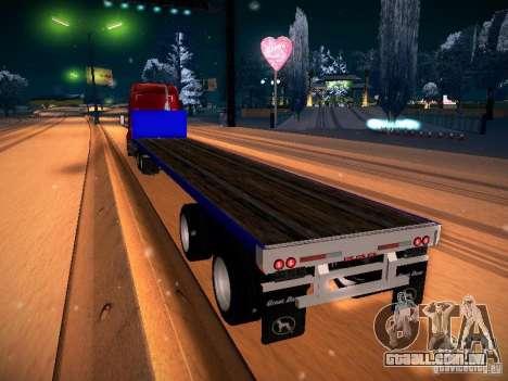 Trailer Artict2 para GTA San Andreas esquerda vista