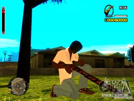 Tiger wepon pack para GTA San Andreas segunda tela
