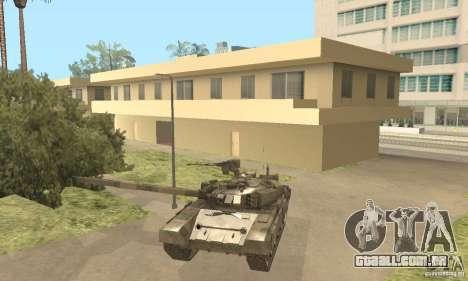 T-90A para GTA San Andreas vista interior