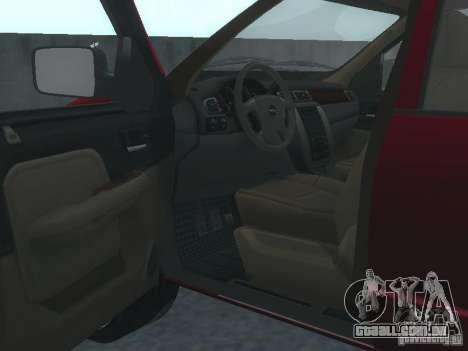 Dodge Ram 1500 v2 para GTA San Andreas vista traseira