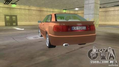 Audi S2 para GTA Vice City deixou vista