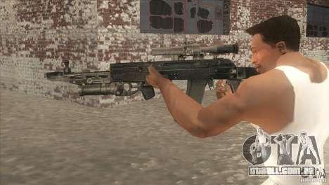 AK-47 v2 para GTA San Andreas segunda tela