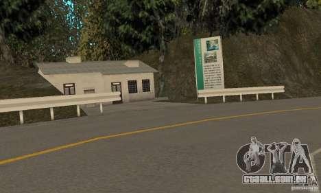 Welcome to AKINA Beta3 para GTA San Andreas por diante tela