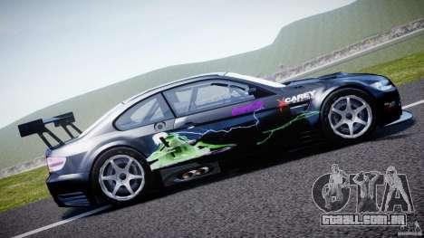 BMW M3 GT2 Drift Style para GTA 4 esquerda vista