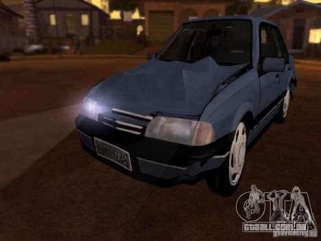 Chevrolet Monza GLS 1996 para GTA San Andreas vista interior