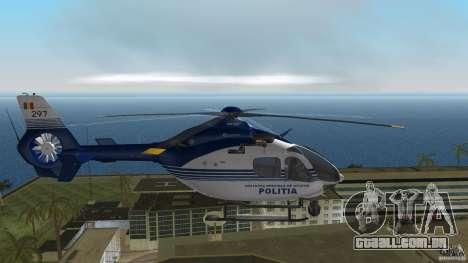 Eurocopter Ec-135 Politia Romana para GTA Vice City vista direita