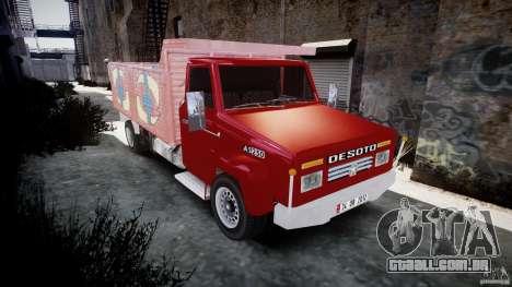 Desoto Ad250 para GTA 4 vista de volta