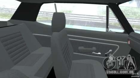Nissan Skyline 2000 GT-R para GTA 4 vista de volta