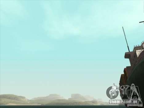 Um realista Timecyc para GTA San Andreas oitavo tela