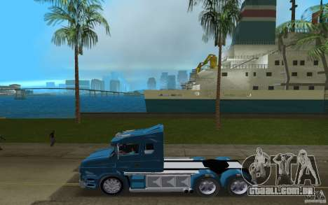 Scania T164 para GTA Vice City deixou vista