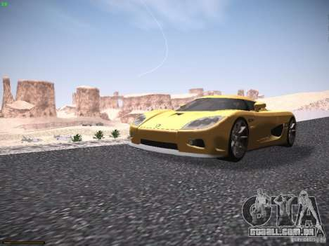 LiberrtySun Graphics ENB v3.0 para GTA San Andreas quinto tela