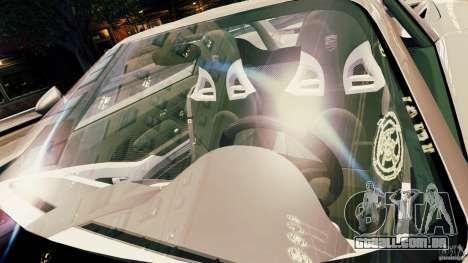 Porsche Carrera GT para GTA 4 vista inferior