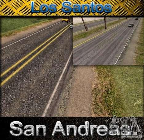 Estrada de qualidade no LS para GTA San Andreas