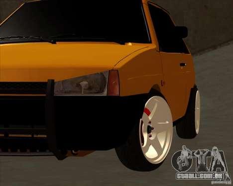 VAZ 2108 (versão com discos brancos) para GTA San Andreas vista direita