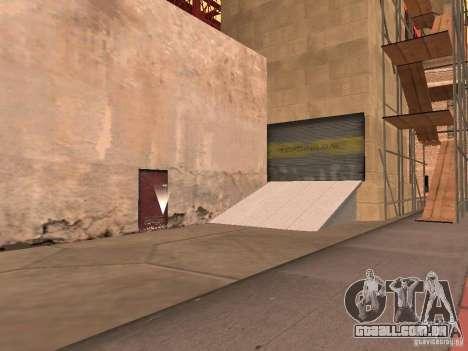 Ponte de ponte vermelha-elevador para GTA San Andreas segunda tela