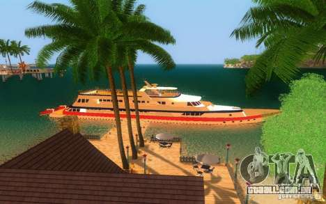 Korteza iate de Vice City para GTA San Andreas