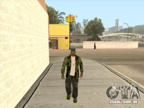 Jaqueta camuflada para GTA San Andreas
