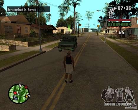 Ajuda bratkov para GTA San Andreas segunda tela