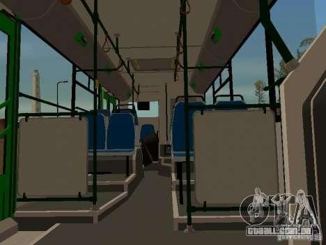 Trailer de Liaz 6213.20 para GTA San Andreas traseira esquerda vista