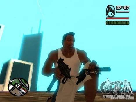 Gangster Weapon Pack para GTA San Andreas terceira tela