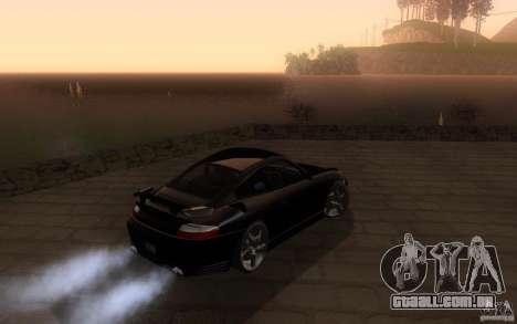 Ruf R-Turbo para GTA San Andreas vista direita