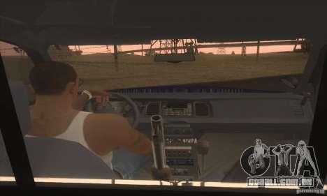 Ford Crown Alabama Police para GTA San Andreas traseira esquerda vista