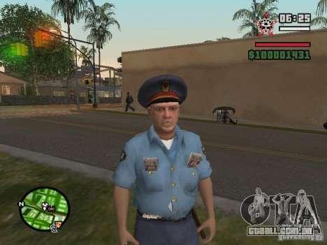 Policiais para GTA San Andreas